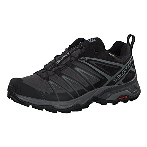 Salomon Men's X Ultra 3 GTX Hiking Shoes, Black/Magnet/Quiet Shade, 11.5