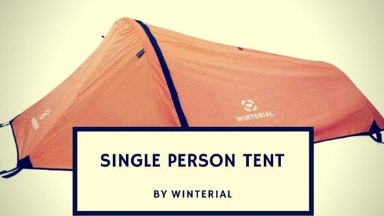 Winterial Single Person Tent review